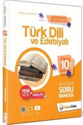 Hiper Zeka Yayınları - Hiper Zeka 10. Sınıf Türk Dili ve Edebiyatı Konu Özetli Soru Bankası