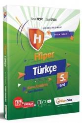 Hiper Zeka Yayınları - Hiper Zeka 5. Sınıf Hiper Türkçe Konu Anlatımlı Soru Bankası