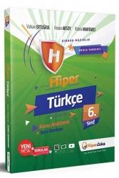 Hiper Zeka Yayınları - Hiper Zeka 6. Sınıf Hiper Türkçe Konu Anlatımlı Soru Bankası