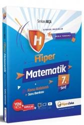 Hiper Zeka Yayınları - Hiper Zeka 7. Sınıf Hiper Matematik Konu Anlatımlı Soru Bankası