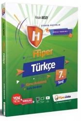 Hiper Zeka Yayınları - Hiper Zeka 7. Sınıf Hiper Türkçe Konu Anlatımlı Soru Bankası