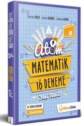 Hiper Zeka Yayınları - Hiper Zeka 8. Sınıf LGS ATOM Matematik 16 Deneme Yeni Nesil