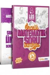 Hiper Zeka Yayınları - Hiper Zeka 8. Sınıf Öncelik Matematik Soru Bankası