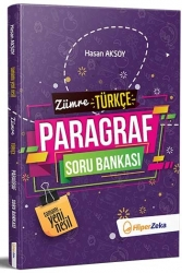 Hiper Zeka Yayınları - Hiper Zeka 8. Sınıf Zümre Paragraf Soru Bankası