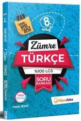 Hiper Zeka Yayınları - Hiper Zeka 8. Sınıf Zümre Türkçe %100 LGS Soru Bankası
