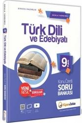 Hiper Zeka Yayınları - Hiper Zeka 9. Sınıf Türk Dili ve Edebiyatı Konu Özetli Soru Bankası