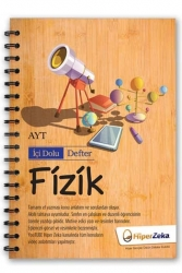 Hiper Zeka Yayınları - Hiper Zeka AYT Fizik İçi Dolu Defter