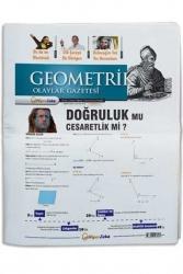 Hiper Zeka Yayınları - Hiper Zeka Tüm Sınavlar İçin Geometrik Olaylar Geometri Gazetesi