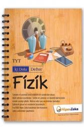 Hiper Zeka Yayınları - Hiper Zeka TYT Fizik İçi Dolu Defter