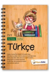 Hiper Zeka Yayınları - Hiper Zeka TYT Türkçe İçi Dolu Defter