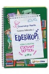 Hiper Zeka Yayınları - Hiper Zeka Üniversiteye Hazırlık Konu Kavratan AYT Edebiyat Defteri Edebikopi