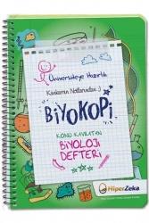 Hiper Zeka Yayınları - Hiper Zeka Üniversiteye Hazırlık Konu Kavratan TYT AYT Biyoloji Defteri Biyokopi