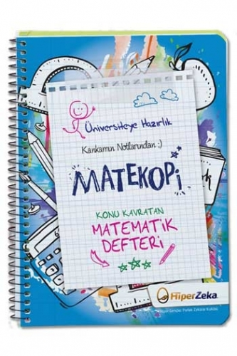 Hiper Zeka Üniversiteye Hazırlık Konu Kavratan TYT Matematik Defteri Matekopi