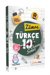 Hiper Zeka - Hiper Zeka Yayınları 8. Sınıf Türkçe Zümre 10 Deneme