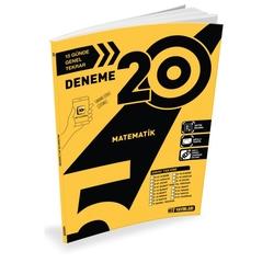 Hız Yayınları - Hız Yayınları 5. Sınıf Matematik 20'li Deneme