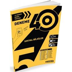 Hız Yayınları - Hız Yayınları 5. Sınıf Sosyal Bilgiler 40'lı Deneme