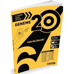 Hız Yayınları - Hız Yayınları 6. Sınıf Fen Bilimleri 20'li Deneme