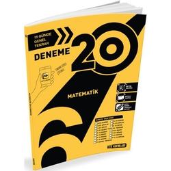 Hız Yayınları - Hız Yayınları 6. Sınıf Matematik 20'li Deneme