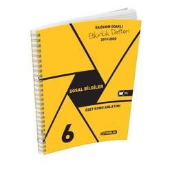 Hız Yayınları - Hız Yayınları 6. Sınıf Sosyal Bilgiler Etkinlik Defteri