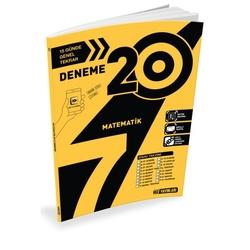 Hız Yayınları - Hız Yayınları 7. Sınıf Matematik 20'li Deneme