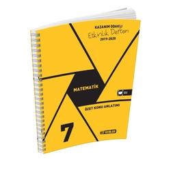 Hız Yayınları - Hız Yayınları 7. Sınıf Matematik Etkinlik Defteri