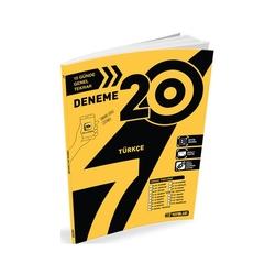 Hız Yayınları - Hız Yayınları 7. Sınıf Türkçe 20'li Deneme