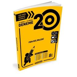 Hız Yayınları - Hız Yayınları 8. Sınıf Fen Bilimleri 20'li Deneme