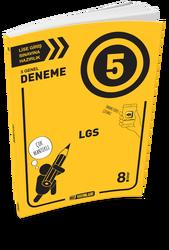 Hız Yayınları - Hız Yayınları 8. Sınıf LGS Genel Deneme Sınavı 5'li Paket