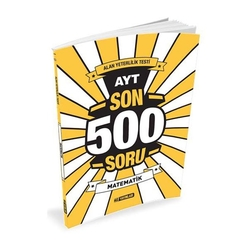 Hız Yayınları - Hız Yayınları AYT Matematik Son 500 Soru