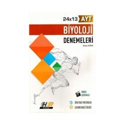 Hız ve Renk Yayınları - Hız ve Renk Yayınları AYT Biyoloji 24×13 Denemeleri