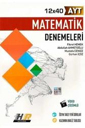 Hız ve Renk Yayınları - Hız ve Renk Yayınları AYT Matematik 12×40 Denemeleri