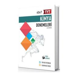 Hız ve Renk Yayınları - Hız ve Renk Yayınları TYT Kimya 40×7 Denemeleri
