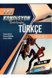 Hız ve Renk Yayınları - Hız ve Renk Yayınları TYT Türkçe Kondisyon Serisi 12x40 Denemesi