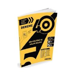 Hız Yayınları - Hız Yayınları 5. Sınıf Din Kültürü Ahlak Bilgisi 40'lı Deneme