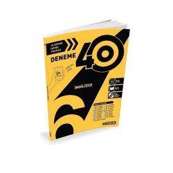 Hız Yayınları - Hız Yayınları 6. Sınıf İngilizce 40'lı Deneme