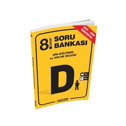 Hız Yayınları - Hız Yayınları 8. Sınıf Din Kültürü ve Ahlak Bilgisi Soru Bankası