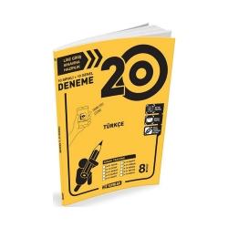 Hız Yayınları - Hız Yayınları 8. Sınıf LGS Türkçe 20li Deneme