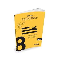 Hız Yayınları - Hız Yayınları 8. Sınıf Türkçe Paragraf Soru Bankası
