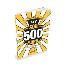 Hız Yayınları - Hız Yayınları AYT Biyoloji Son 500 Soru