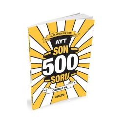 Hız Yayınları - Hız Yayınları AYT Coğrafya Son 500 Soru