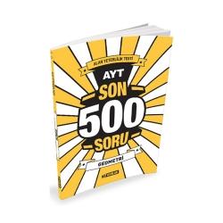 Hız Yayınları - Hız Yayınları AYT Geometri Son 500 Soru