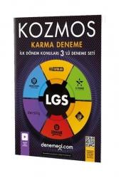 Hız Yayınları - Hız Yayınları Kozmos LGS Karma İlk Dönem Konuları 3 lü Deneme Seti