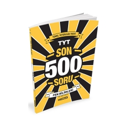 Hız Yayınları - Hız Yayınları TYT Fen Bilimleri Son 500 Soru