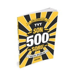 Hız Yayınları - Hız Yayınları TYT Sosyal Bilimler Son 500 Soru