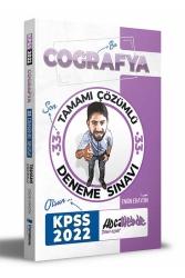 Hocawebde Yayınları - Hocawebde 2022 KPSS Coğrafya Tamamı Çözümlü 33 Deneme