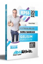 Hocawebde Yayınları - Hocawebde 2022 KPSS Eğitim Bilimleri Gelişim Psikolojisi Tamamı Çözümlü Soru Bankası