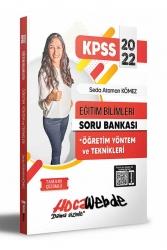 Hocawebde Yayınları - Hocawebde 2022 KPSS Eğitim Bilimleri Öğretim Yöntem ve Teknikleri Soru Bankası