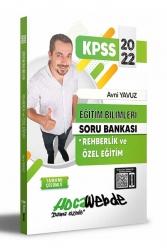 Hocawebde Yayınları - Hocawebde 2022 KPSS Eğitim Bilimleri Rehberlik ve Özel Eğitim Soru Bankası