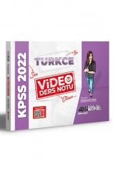 Hocawebde Yayınları - HocaWebde Yayınları 2022 KPSS Türkçe Video Ders Notu