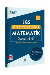 İMT Hoca Yayınları - İMT Hoca Yayınları 8.Sınıf LGS Derecelendirilmiş Nitelikli Matematik Denemeleri